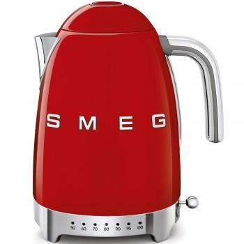 SMEG - Czajnik elektryczny z regulacją temperatury 1,7 l. , czerwony KLF04RDEU