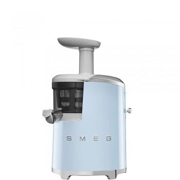 Smeg - 50's Style - Wyciskarka wolnoobrotowa, pastelowy błękit SJF01PBEU