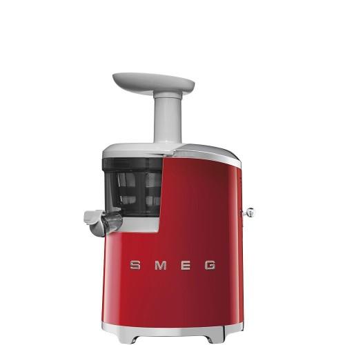 Smeg - 50's Style - Wyciskarka wolnoobrotowa, czerwona SJF01RDEU