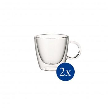 Villeroy & Boch - 2 szklanki z uchem do gorących napojów - Artesano Hot&Cold Beverages