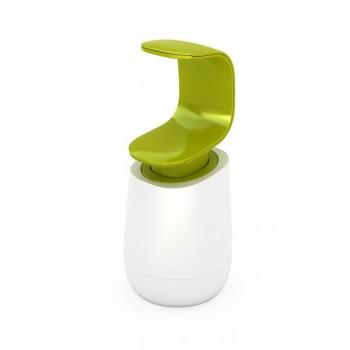 JJ - Dozownik na mydło C-pump, biało - zielony