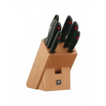 Blok z nożami 7 elementów Point