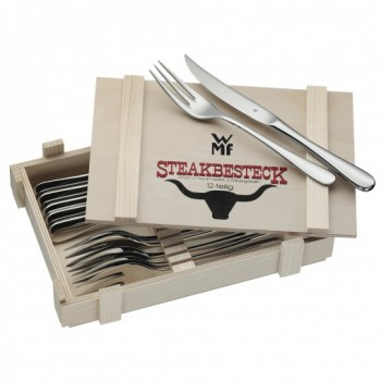 WMF - Zestaw sztućców do steków dla 6 osób