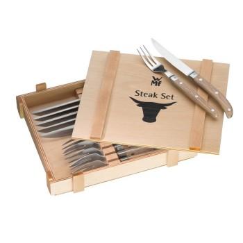 WMF - Zestaw sztućców do steków, 12 elementów, Ranch