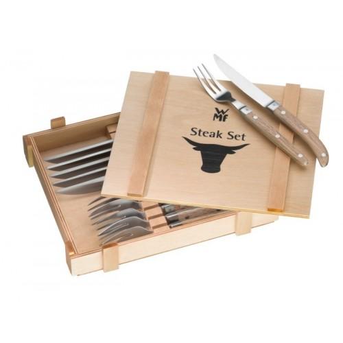 WMF - Zestaw sztućców do steków, 12 el., Ranch