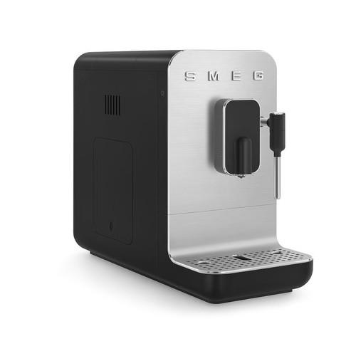 SMEG - Automatyczny ekspres do kawy ze spieniaczem BCC02BLMEU