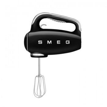 SMEG - Mikser ręczny czarny HMF01BLEU